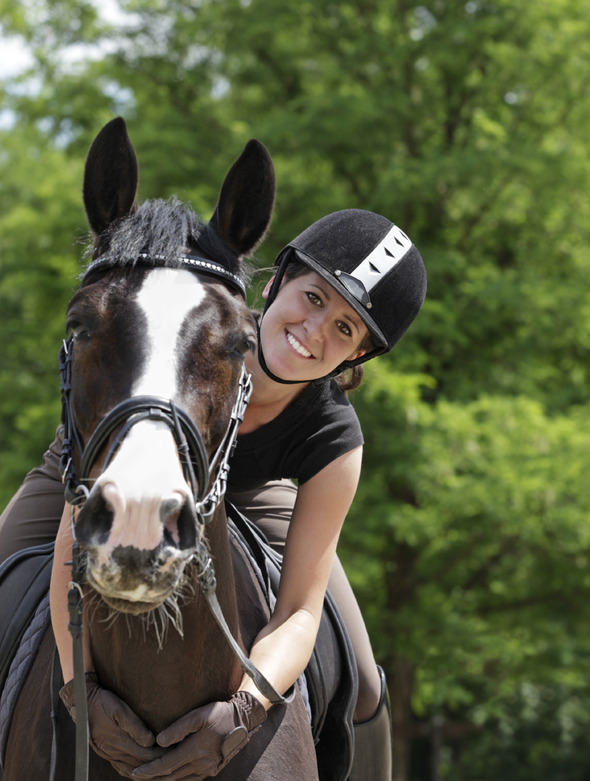 Adult horse lesson riding ready help